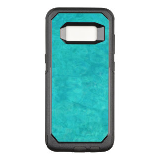 Blue Water Color OtterBox Commuter Samsung Galaxy S8 Case
