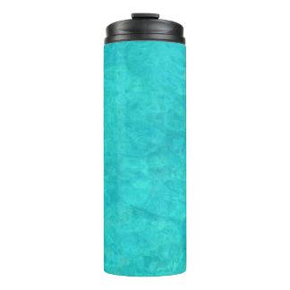 Blue Water Color Thermal Tumbler