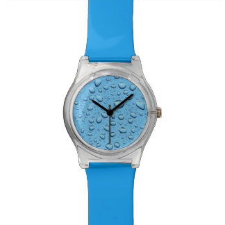 Blue Water Drops Watch