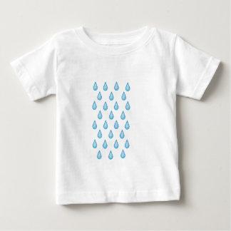 BLUE WATER H20 RAIN OR TEAR DROP EMOJI IN GLITTER BABY T-Shirt