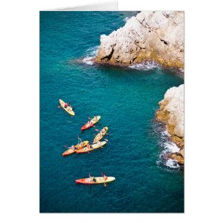 Blue Water Kayaking Card