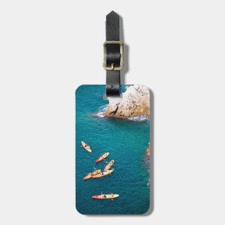 Blue Water Kayaking Luggage Tag