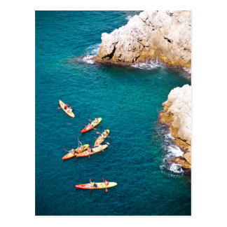Blue Water Kayaking Postcard