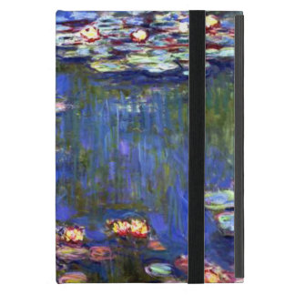 Blue Water Lily Pond Cover For iPad Mini