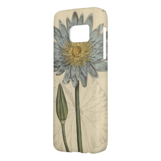 Blue Water Lily Samsung Galaxy S7 Case