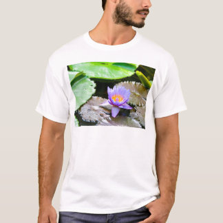 Blue Water Lily T-Shirt
