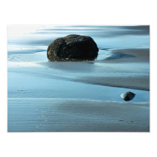 BLUE WATER PHOTO PRINT