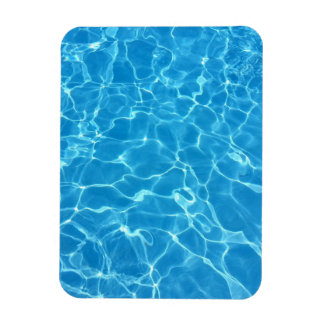 Blue Water Texture Magnet