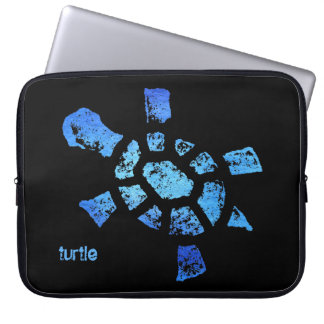 """Blue Water Turtle 15"""" Laptop Sleeve"""