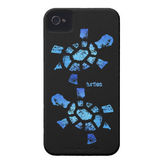 Blue Water Turtle Barely There iPhone 4 Case-Mate Cases