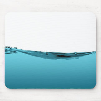 Blue water wave (TBA) Mouse Pad