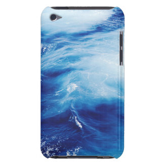 Blue Water Waves in Ocean Barely There iPod Case