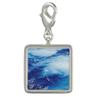 Blue Water Waves in Ocean Charms