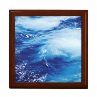 Blue Water Waves in Ocean Gift Box