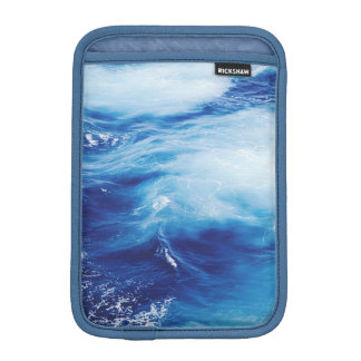 Blue Water Waves in Ocean iPad Mini Sleeve