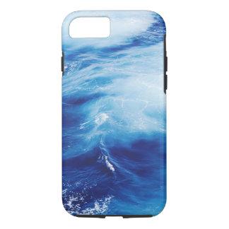 Blue Water Waves in Ocean iPhone 8/7 Case