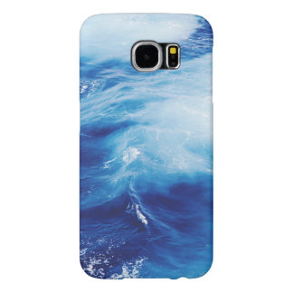 Blue Water Waves in Ocean Samsung Galaxy S6 Cases