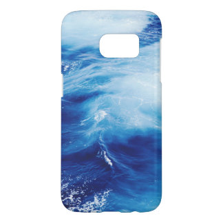 Blue Water Waves in Ocean Samsung Galaxy S7 Case