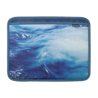 Blue Water Waves in Ocean Sleeve For MacBook Air