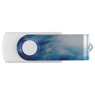Blue Water Waves in Ocean USB Flash Drive
