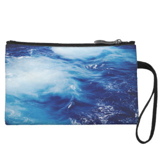 Blue Water Waves in Ocean Wristlet