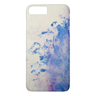 Blue watercolor background iPhone 8 plus/7 plus case