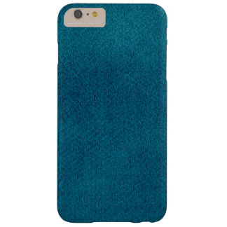 Blue Watercolor Barely There iPhone 6 Plus Case