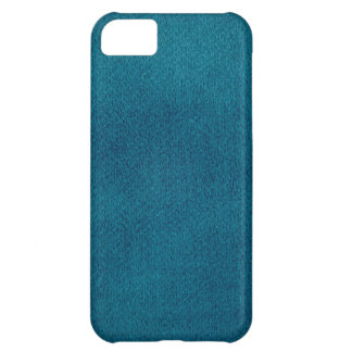Blue Watercolor Cover For iPhone 5C