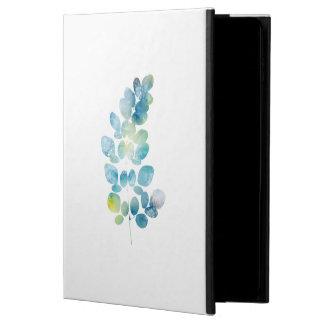 Blue Watercolor Paint Leaf Powis iPad Air 2 Case