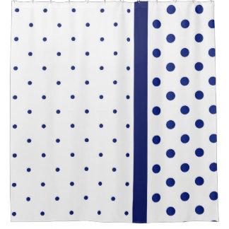Blue Watercolor Polka Dot Modern