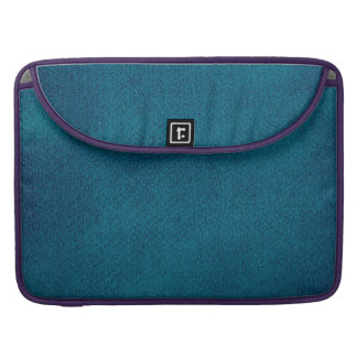 Blue Watercolor Sleeve For MacBook Pro