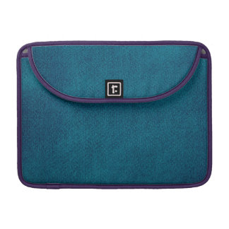 Blue Watercolor Sleeve For MacBooks