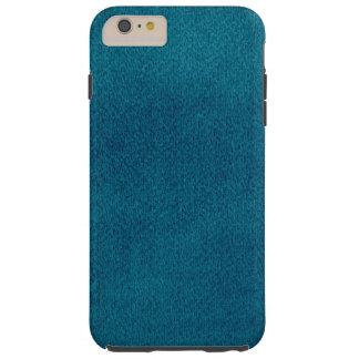 Blue Watercolor Tough iPhone 6 Plus Case