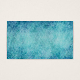 Blue Watercolor Turquoise Paper Background Business Card