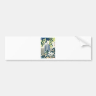 Blue Waterfall Bumper Sticker