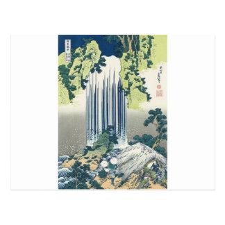 Blue Waterfall Postcard
