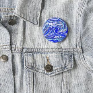 Blue Wave 2018 2 Inch Round Button