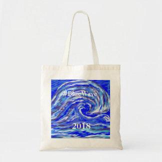 Blue Wave 2018 Tote Bag
