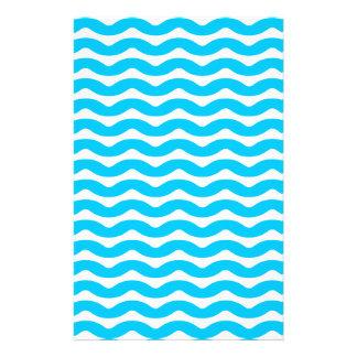 blue wave custom stationery