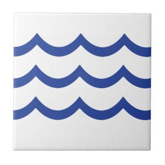 BLUE WAVE TILE
