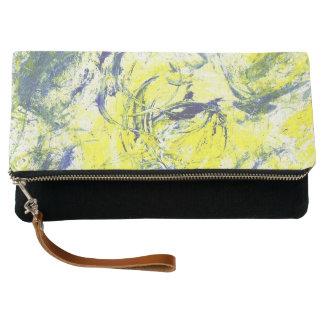 Blue Waves Clutch Bag