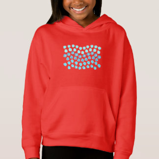 Blue Waves Girls' Pullover Hoodie