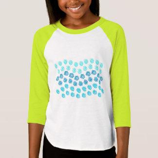 Blue Waves Girls' Raglan T-Shirt