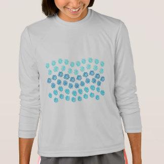 Blue Waves Girls' Sports Long Sleeve T-Shirt