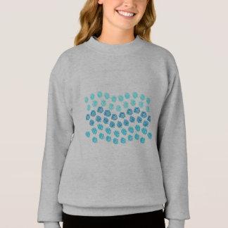 Blue Waves Girls' Sweatshirt