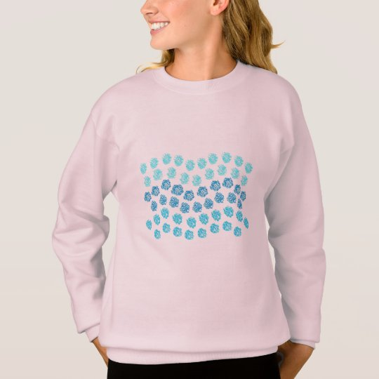 Blue Waves Girls' Sweatshirt