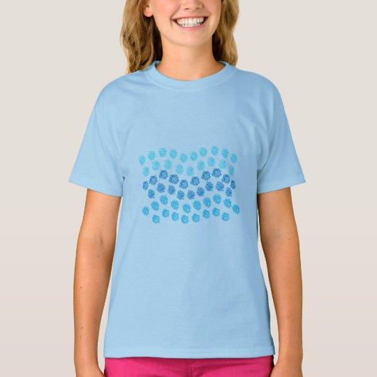 Blue Waves Girls' T-Shirt