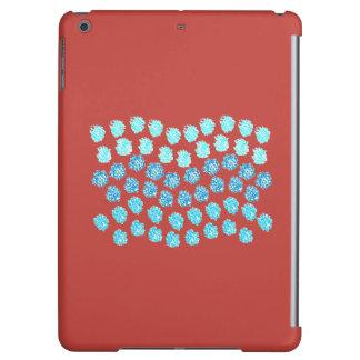 Blue Waves Glossy iPad Air Case