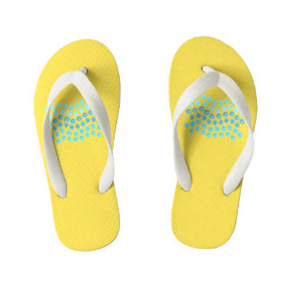 Blue Waves Kids' Flip Flops