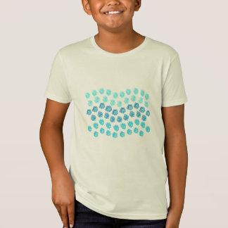 Blue Waves Kids' Organic T-Shirt